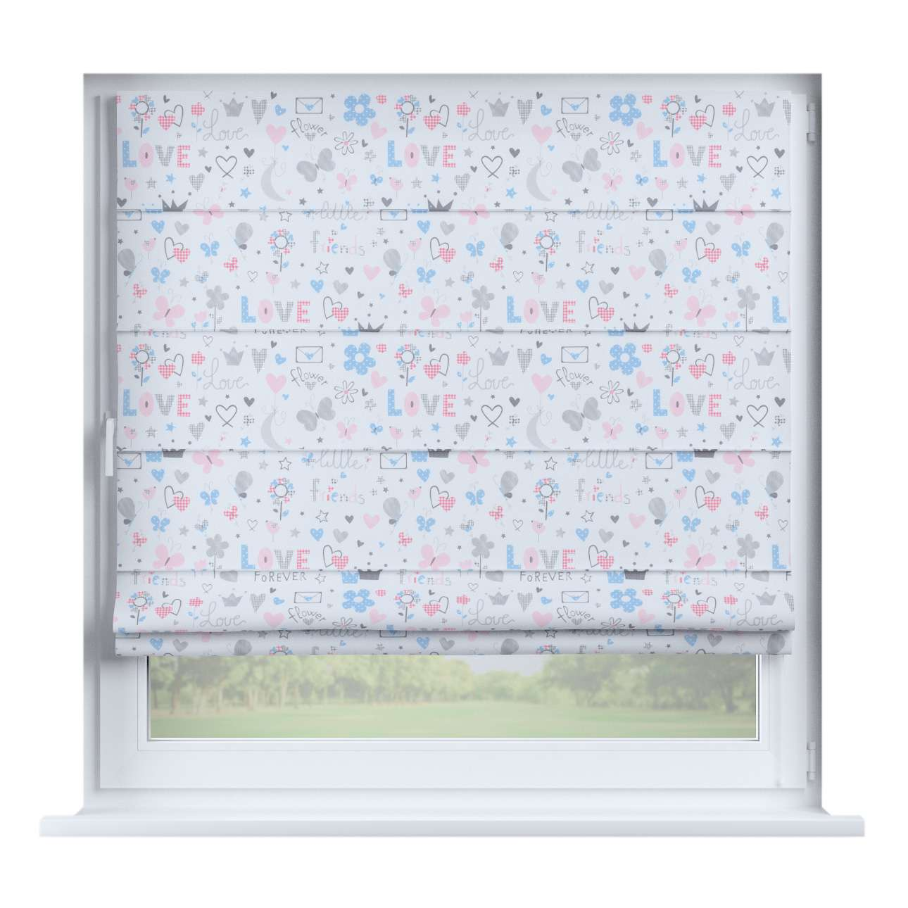 Capri roman blind in collection Little World, fabric: 141-27