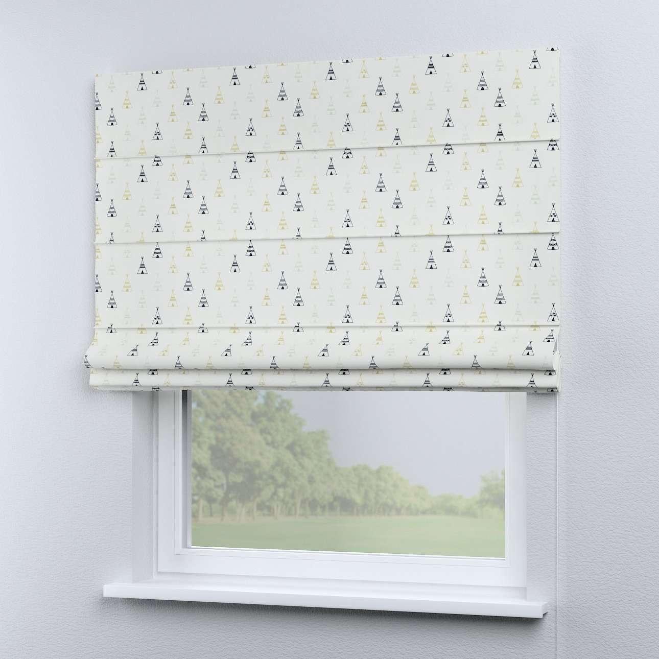 Foldegardin Capri<br/>Uden flæsekant 80 × 170 cm fra kollektionen Adventure, Stof: 141-84