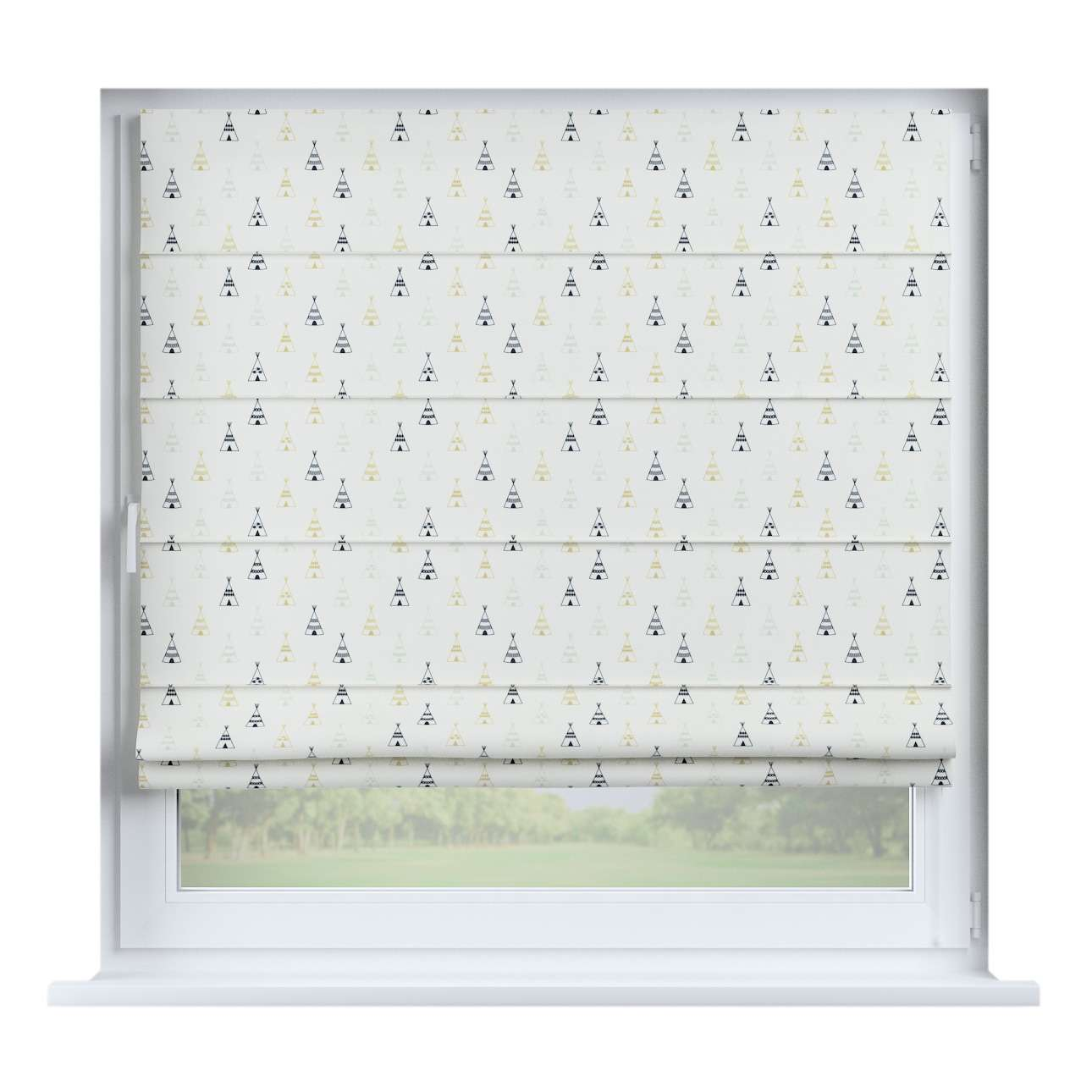 Capri roman blind in collection Adventure, fabric: 141-84