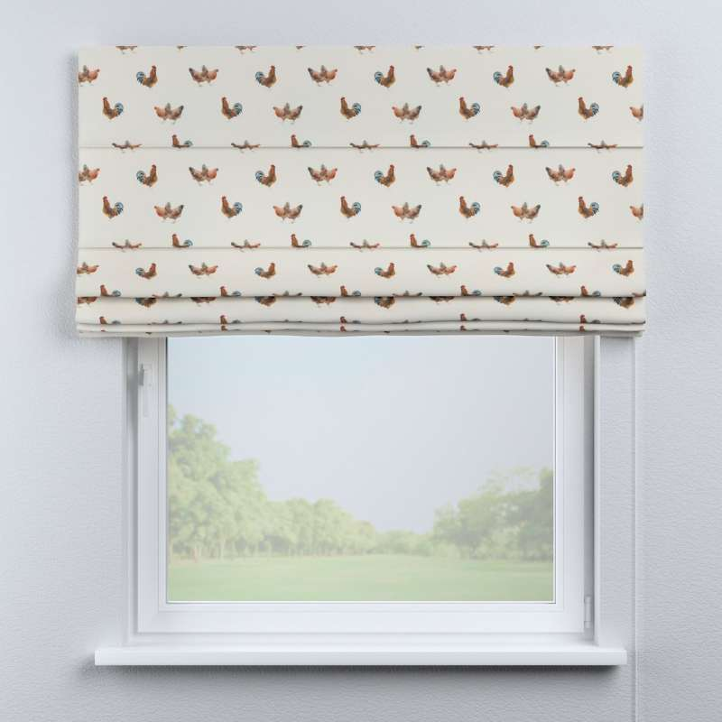 Capri roman blind in collection Flowers, fabric: 141-80
