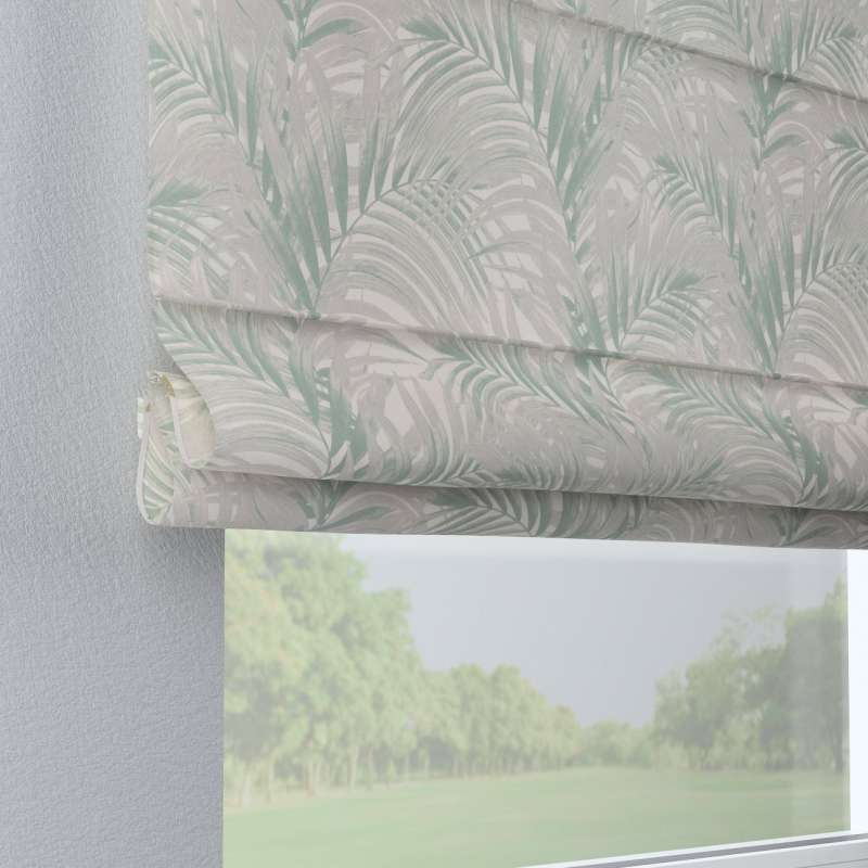 Capri roman blind in collection Gardenia, fabric: 142-15