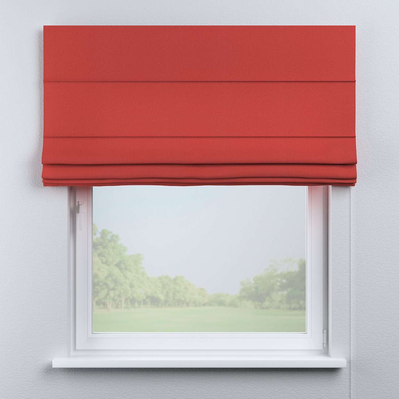 Capri roman blind in collection Woolly, fabric: 142-33