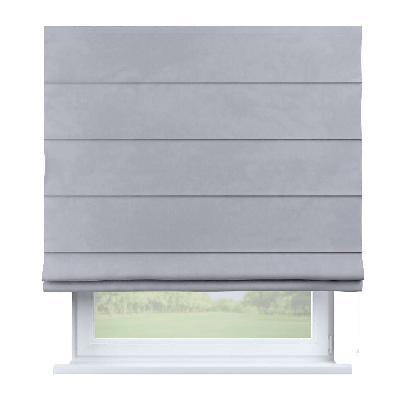 Capri roman blind in collection Velvet, fabric: 704-24