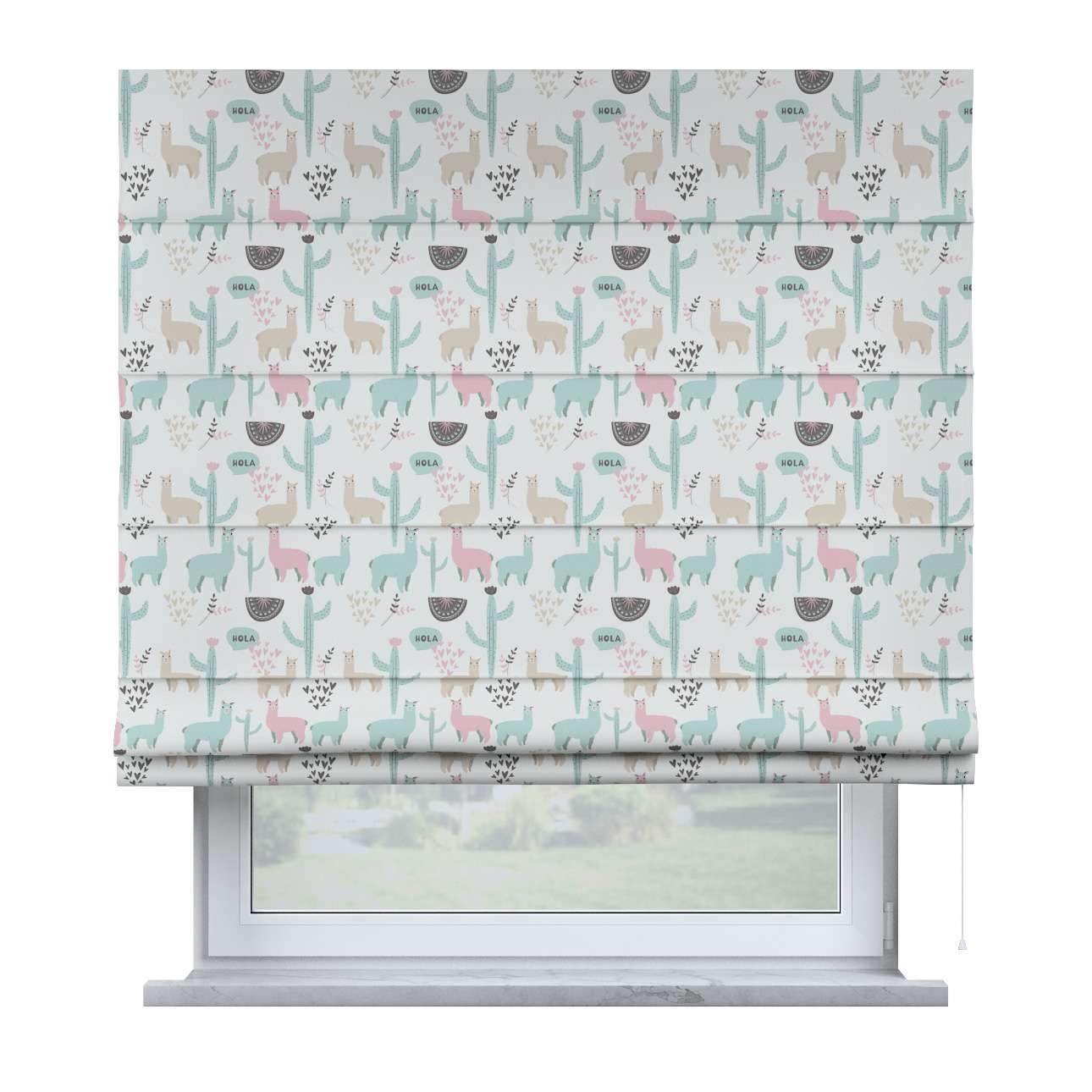 Billie roman blind in collection Magic Collection, fabric: 500-01