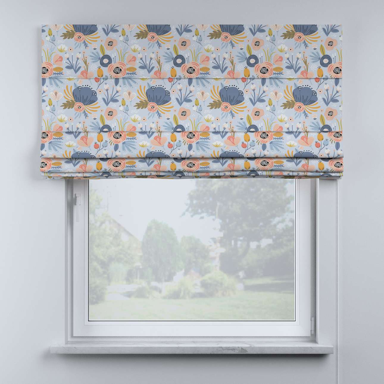 Billie roman blind in collection Magic Collection, fabric: 500-05