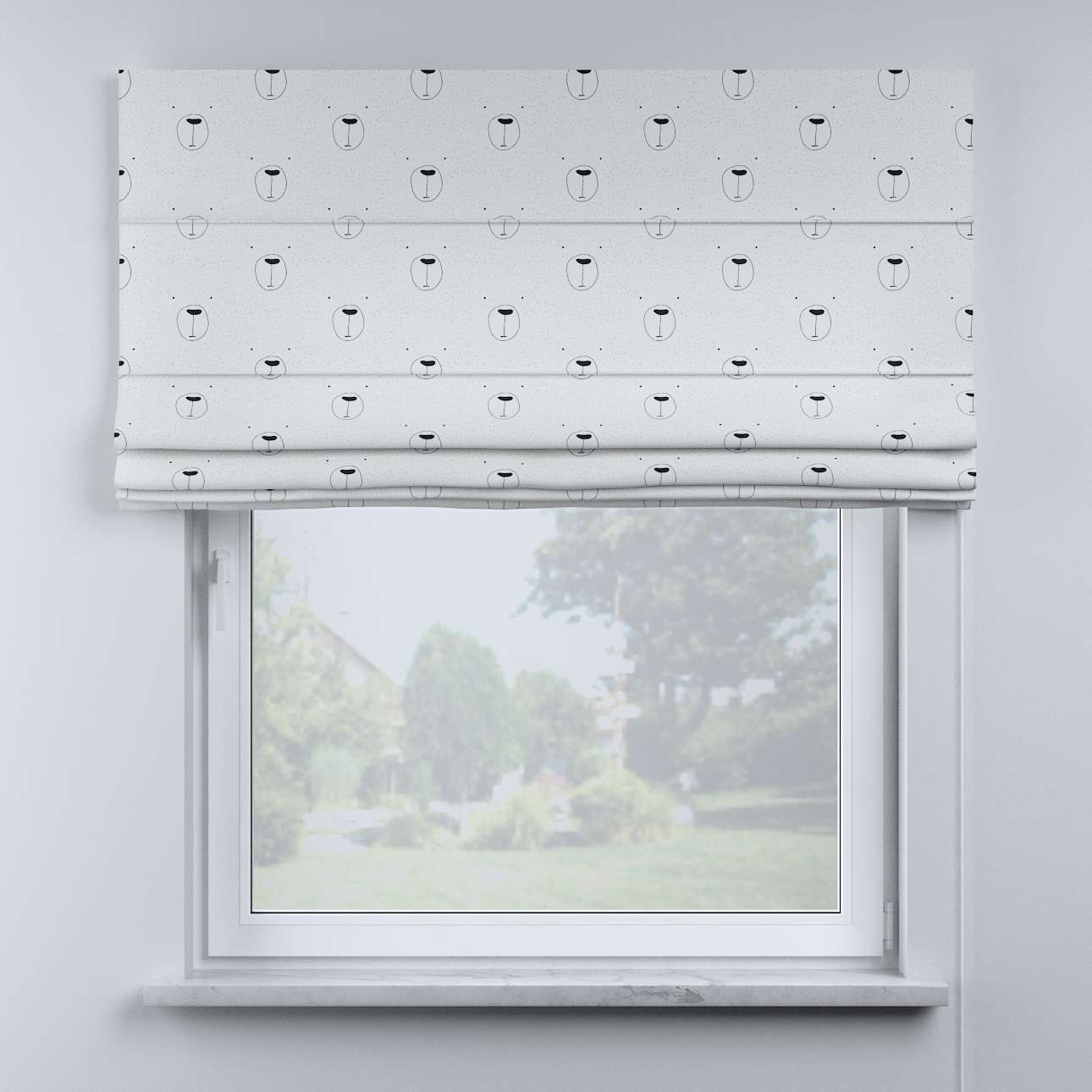 Billie roman blind in collection Magic Collection, fabric: 500-06