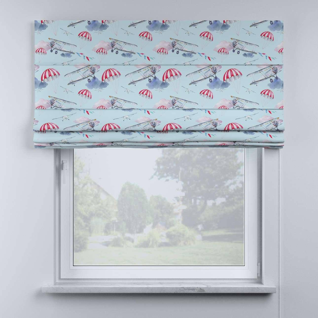 Billie roman blind in collection Magic Collection, fabric: 500-10