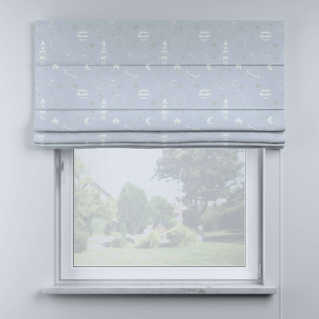 Billie roman blind in collection Magic Collection, fabric: 500-16