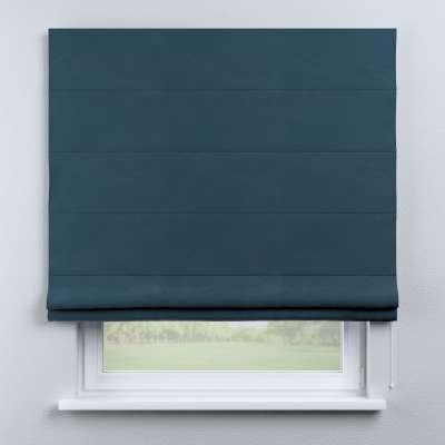 Raffrollo Billie 704-16 blau Kollektion Posh Velvet