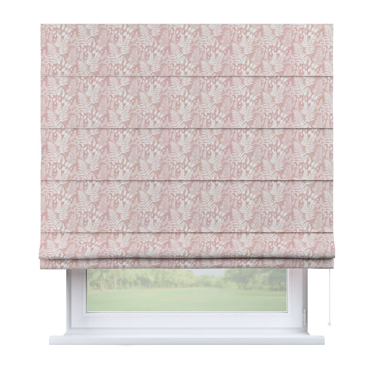 Capri roman blind in collection Pastel Forest, fabric: 142-48