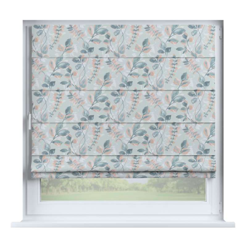 Capri roman blind in collection Pastel Forest, fabric: 142-52