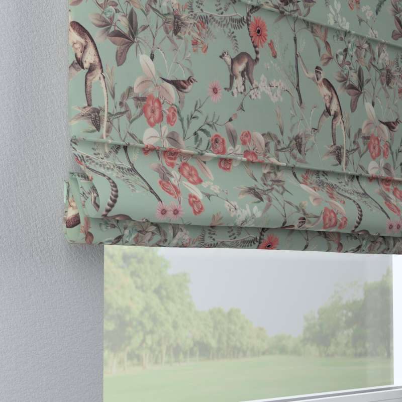 Capri roman blind in collection Tropical Island, fabric: 142-62