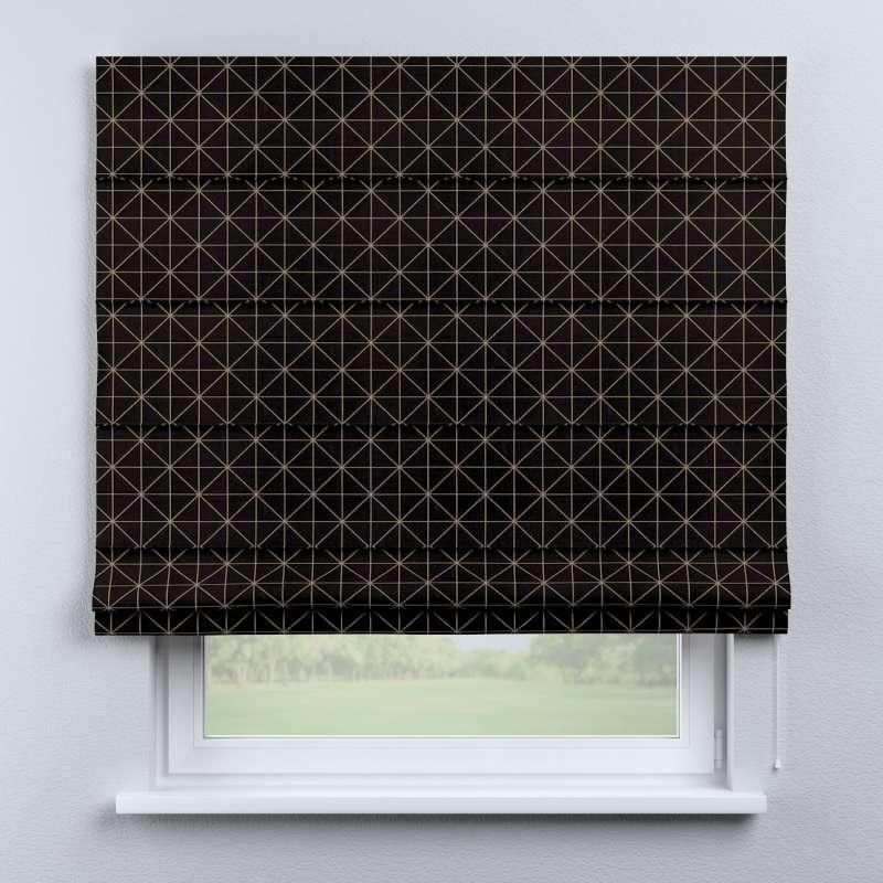 Foldegardin Capri<br/> fra kollektionen Black & White, Stof: 142-55