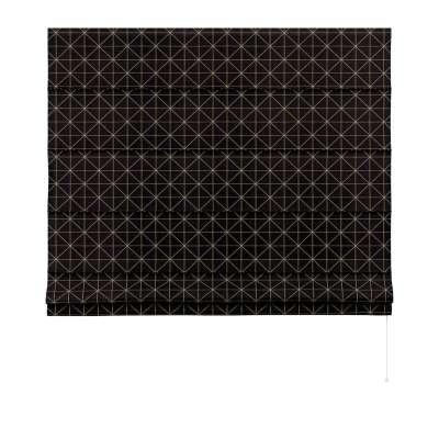 Vouwgordijn Capri van de collectie Black & White, Stof: 142-55