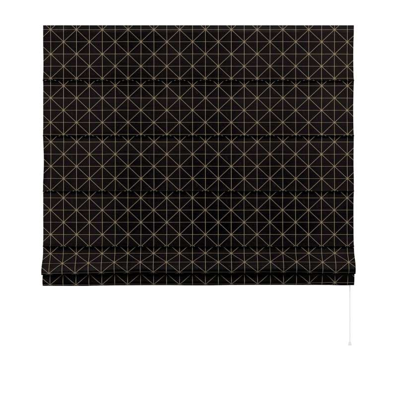 Capri roman blind in collection Black & White, fabric: 142-55