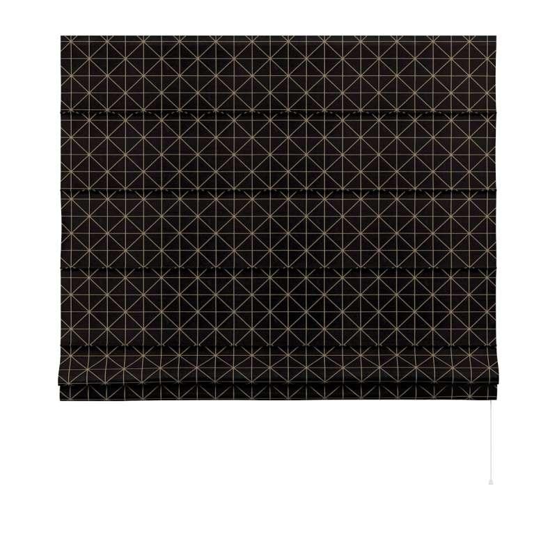 Raffrollo Capri von der Kollektion Black & White, Stoff: 142-55