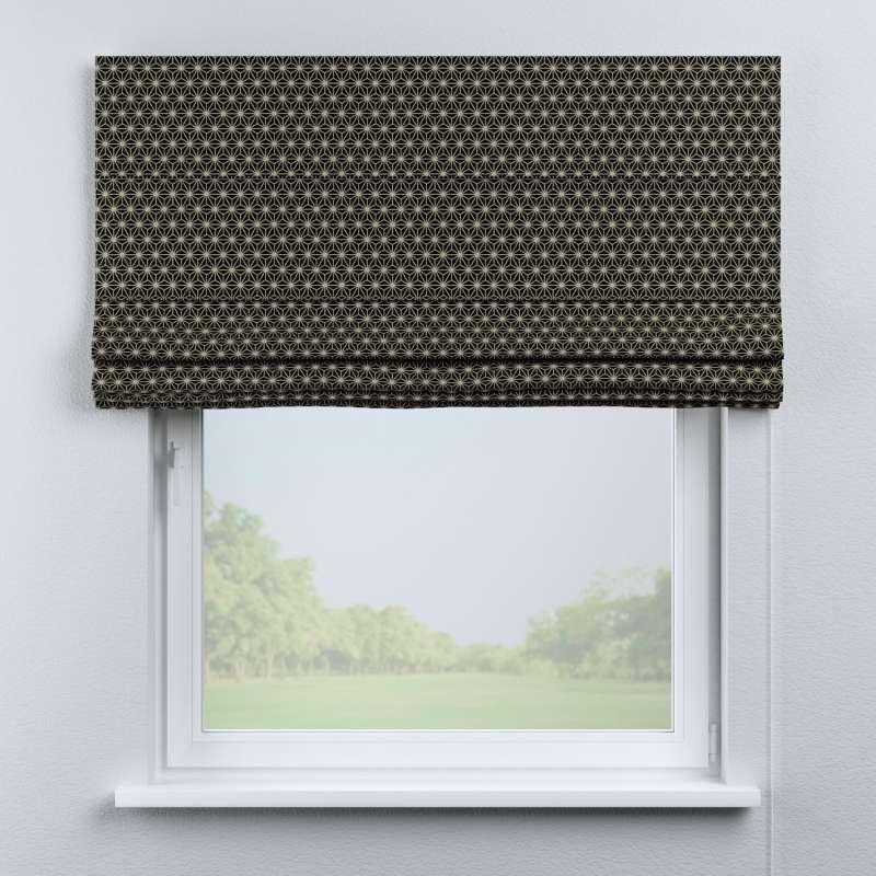 Foldegardin Capri<br/>Uden flæsekant fra kollektionen Black & White, Stof: 142-56