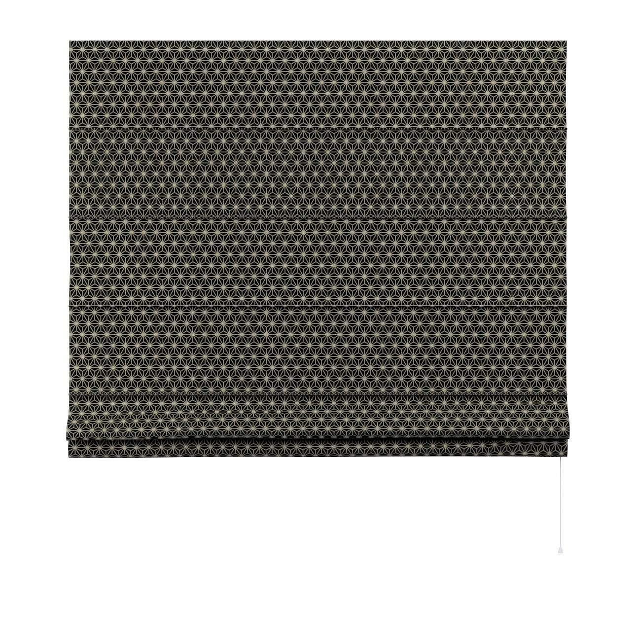 Rímska roleta Capri V kolekcii Black & White, tkanina: 142-56