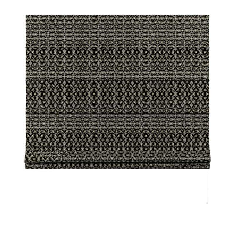 Capri roman blind in collection Black & White, fabric: 142-56