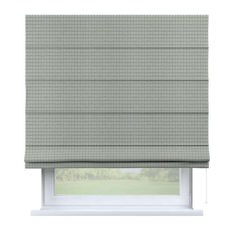 Capri roman blind in collection Black & White, fabric: 142-76