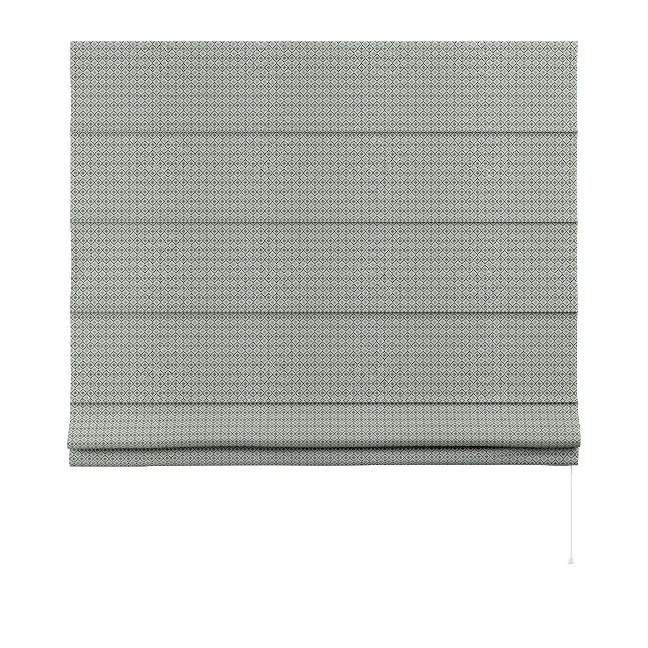 Capri roman blind in collection Black & White, fabric: 142-76