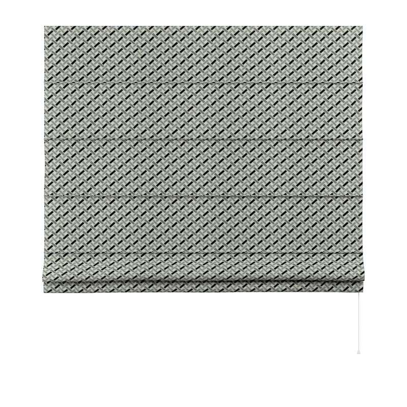 Foldegardin Capri<br/> fra kollektionen Black & White, Stof: 142-78