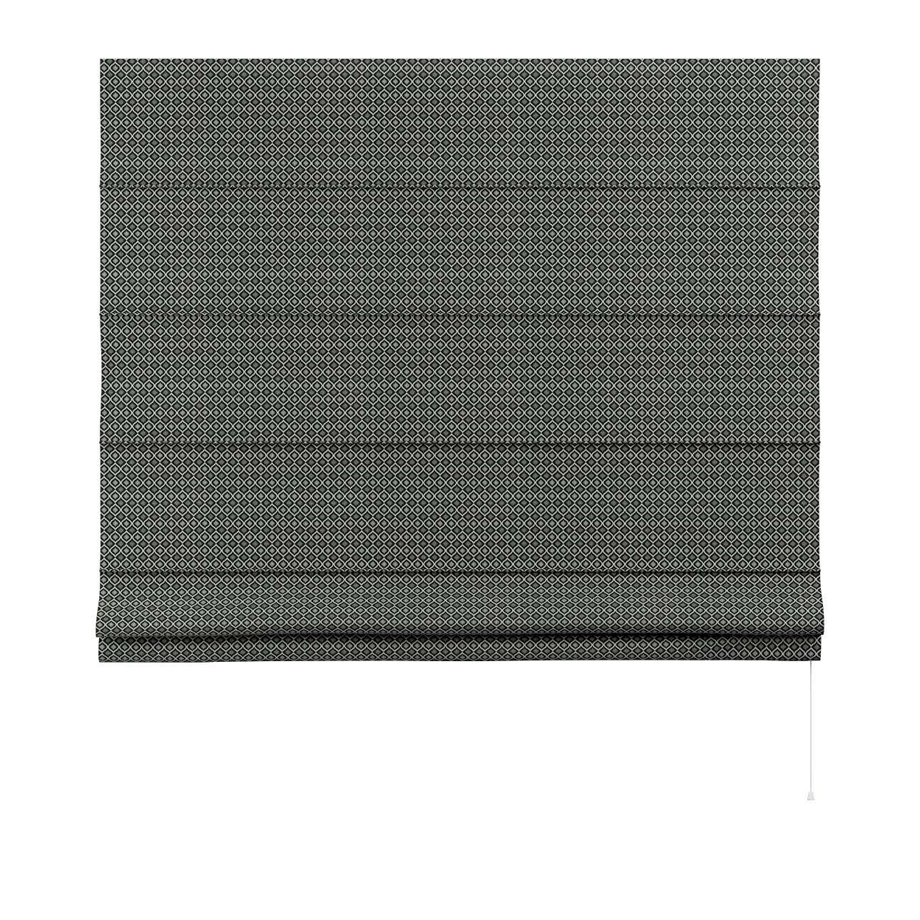 Capri roman blind in collection Black & White, fabric: 142-86