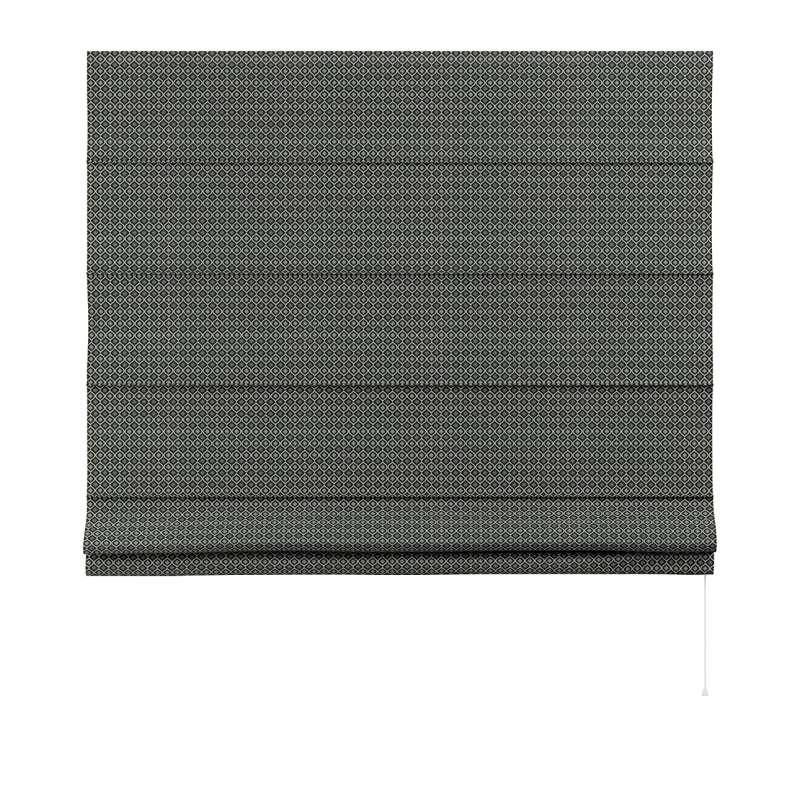 Foldegardin Capri<br/>Uden flæsekant fra kollektionen Black & White, Stof: 142-86