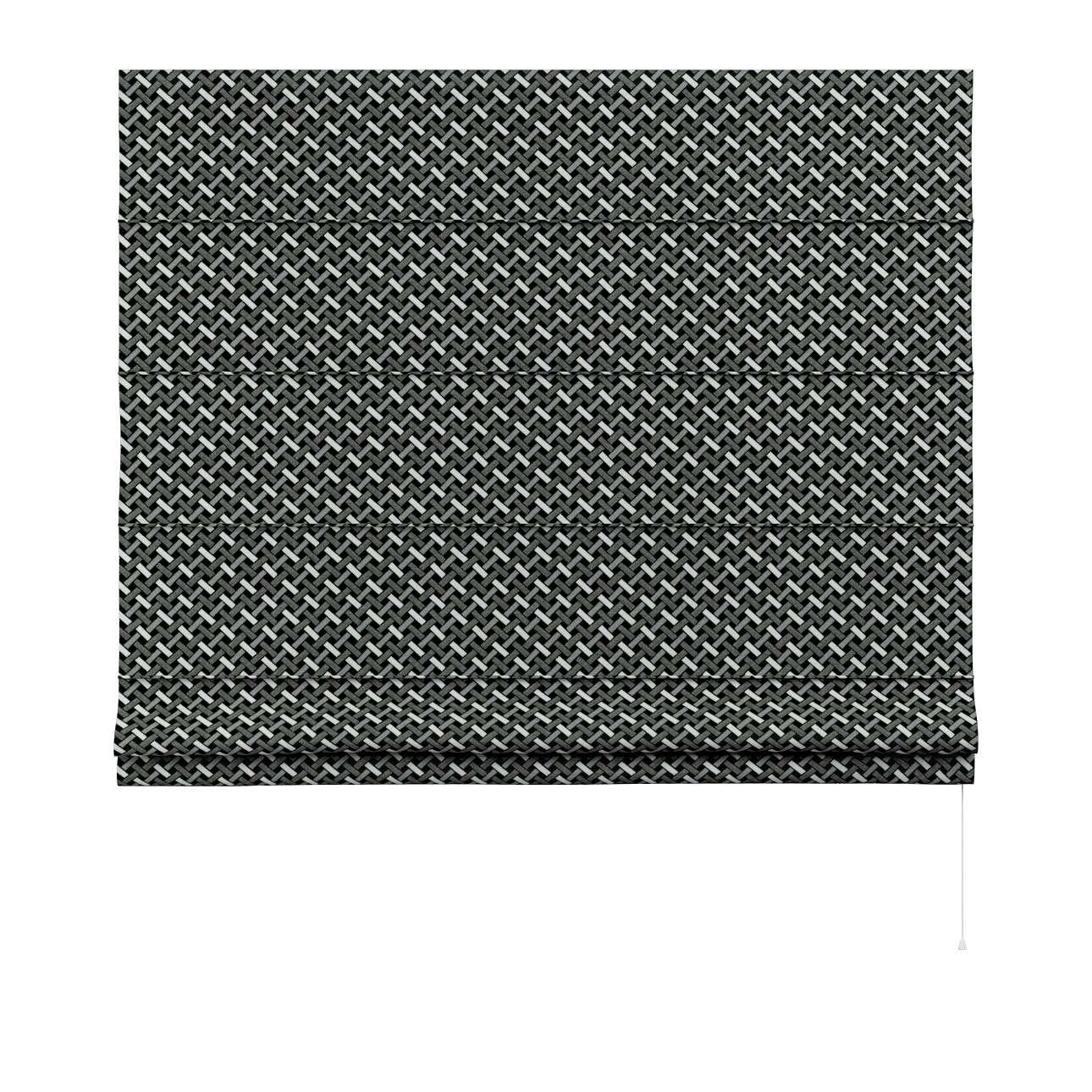 Roleta rzymska Capri w kolekcji Black & White, tkanina: 142-87