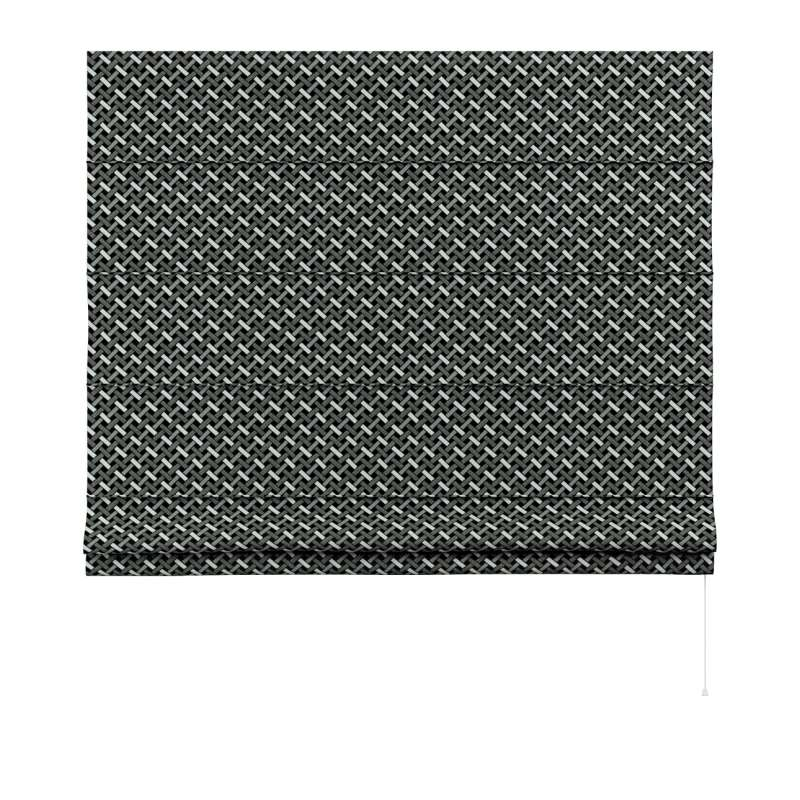 Foldegardin Capri<br/> fra kollektionen Black & White, Stof: 142-87