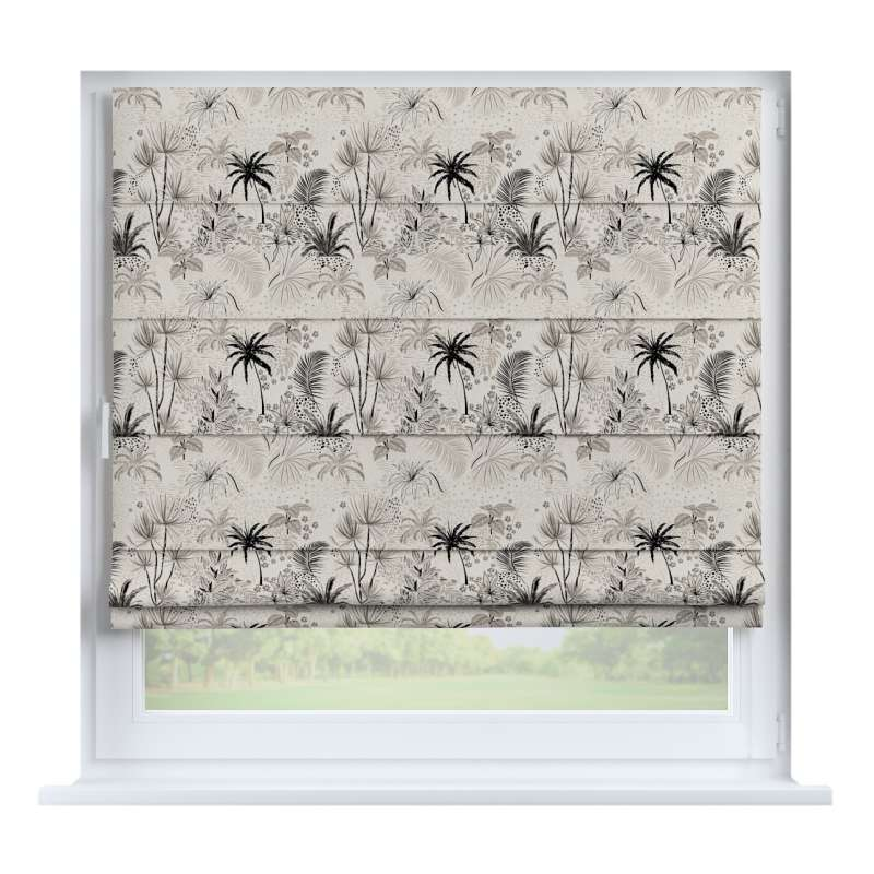 Capri roman blind in collection Tropical Island, fabric: 142-97