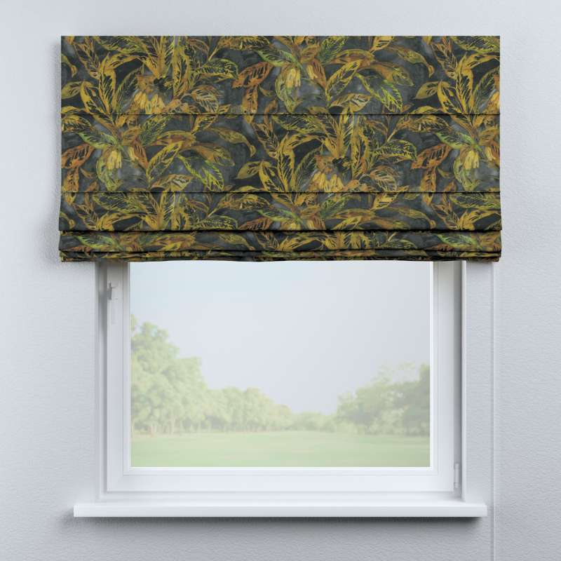 Capri roman blind in collection Abigail, fabric: 143-01