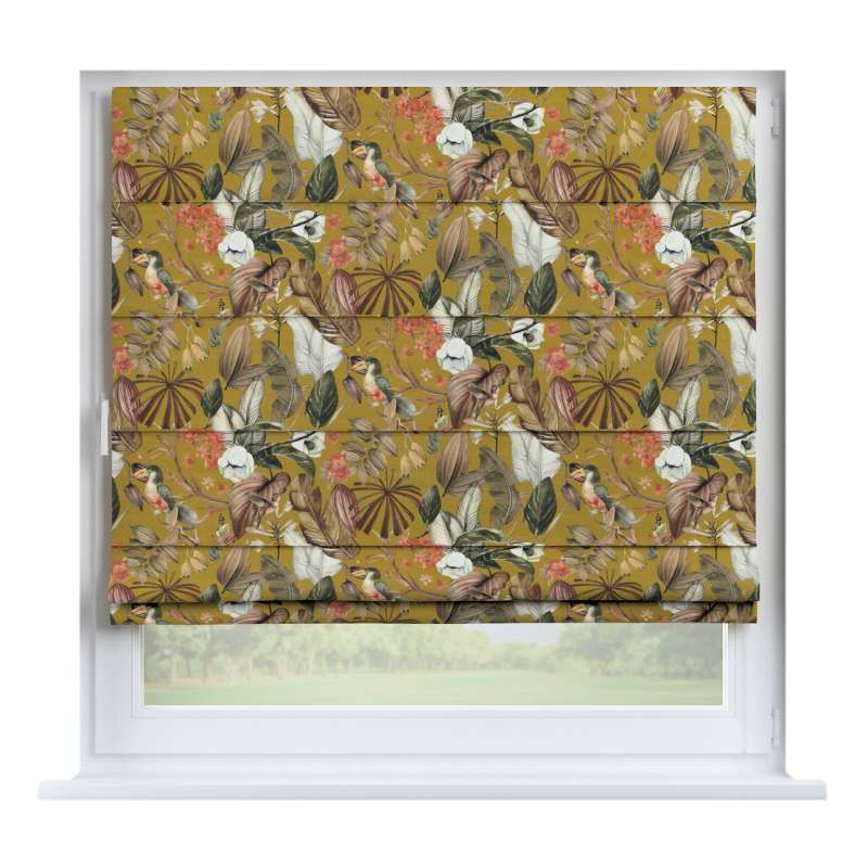 Capri roman blind in collection Abigail, fabric: 143-09