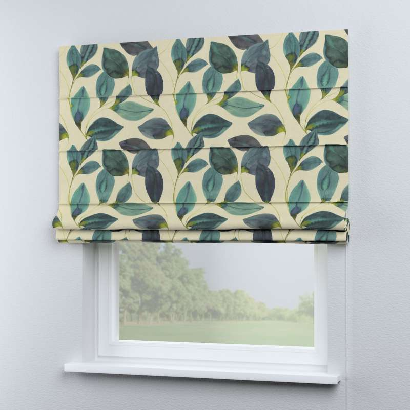 Capri roman blind in collection Abigail, fabric: 143-15