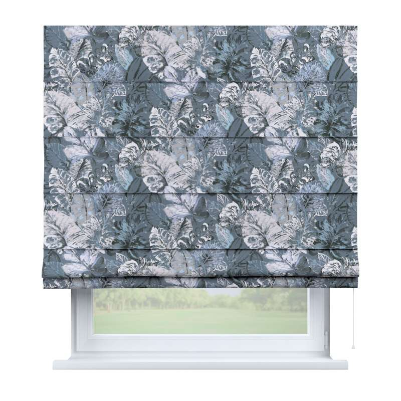 Capri roman blind in collection Abigail, fabric: 143-18
