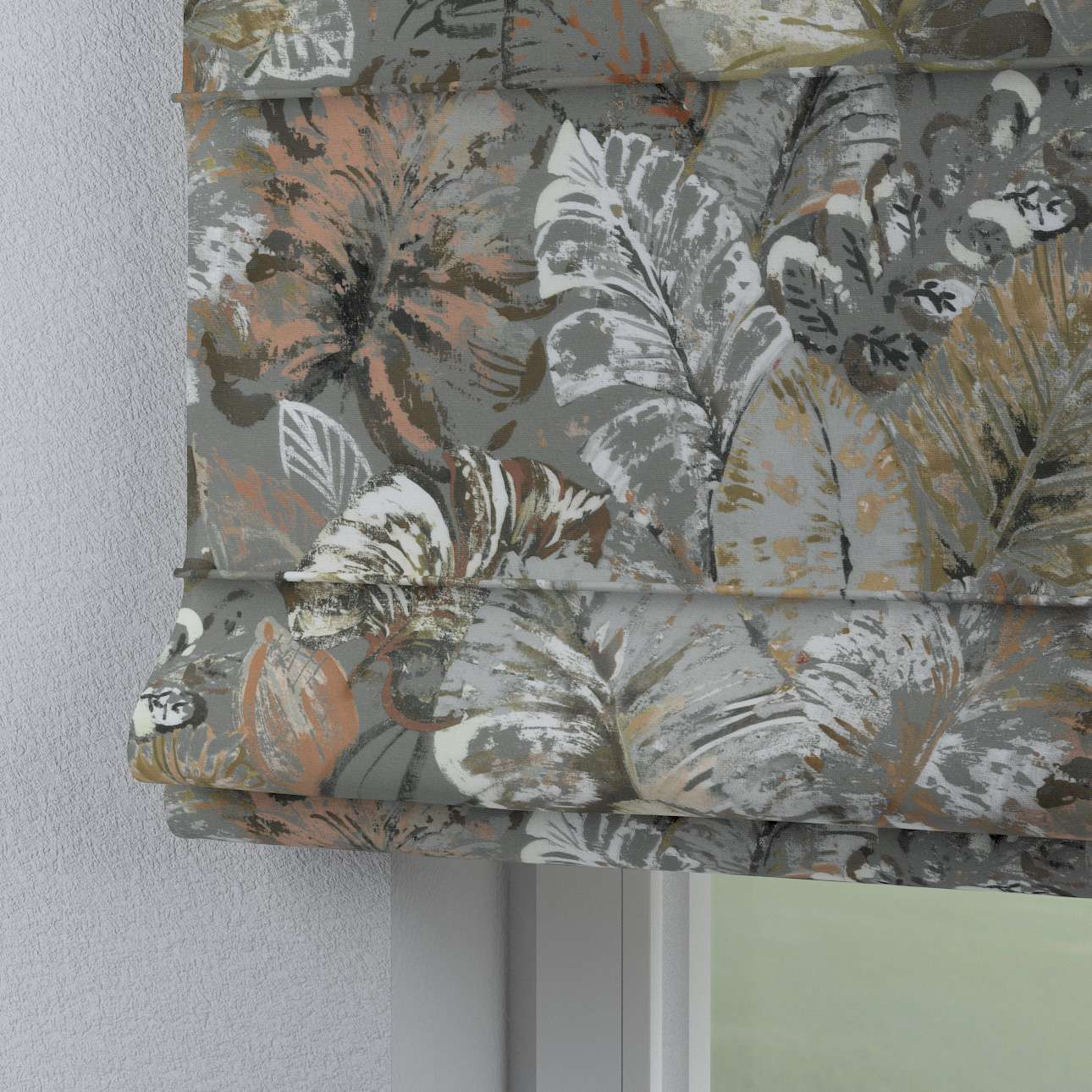 Rímska roleta Capri V kolekcii Abigail, tkanina: 143-19