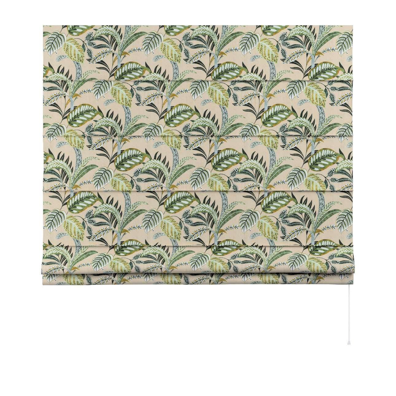 Roleta rzymska Capri w kolekcji Tropical Island, tkanina: 142-96