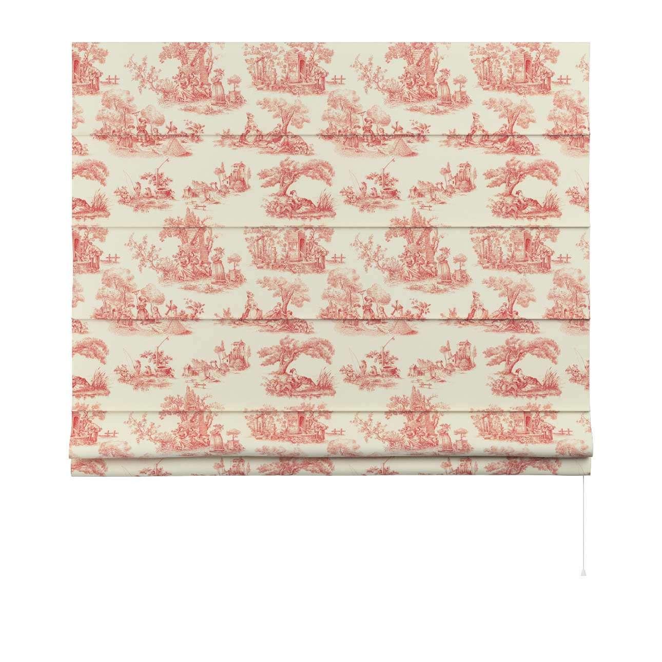 Foldegardin Capri<br/>Uden flæsekant 80 x 170 cm fra kollektionen Avinon, Stof: 132-15
