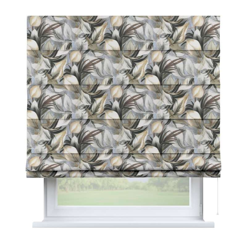 Capri roman blind in collection Abigail, fabric: 143-60