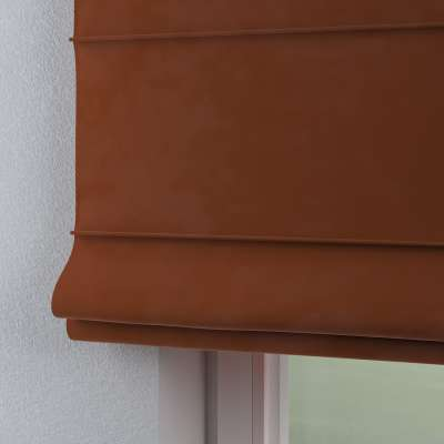 Vouwgordijn Capri 704-33 bruin-caramel Collectie Velvet
