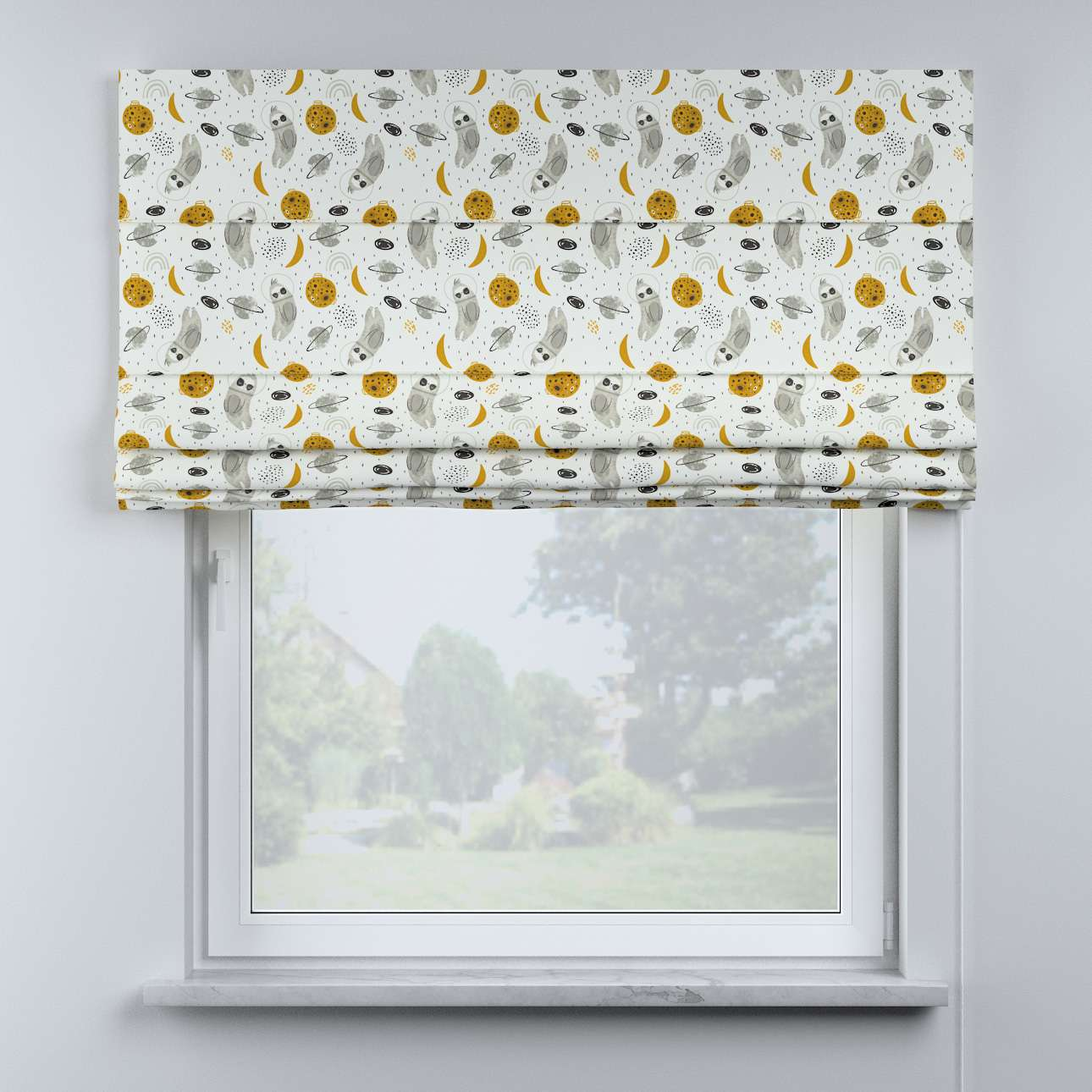 Billie roman blind in collection Magic Collection, fabric: 500-44