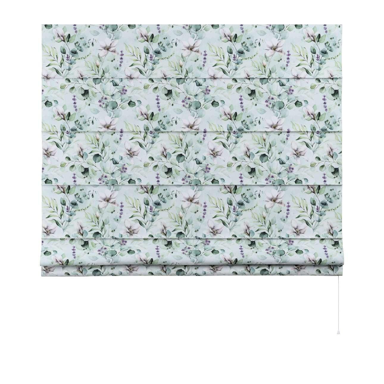 Rímska roleta Capri V kolekcii Flowers, tkanina: 143-66