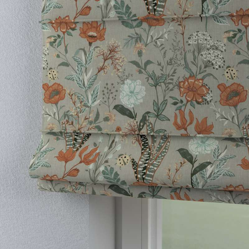 Laskosverho Capri<br/>Läpinäkyvä ja imentävät mallistosta Flowers, Kangas: 143-70