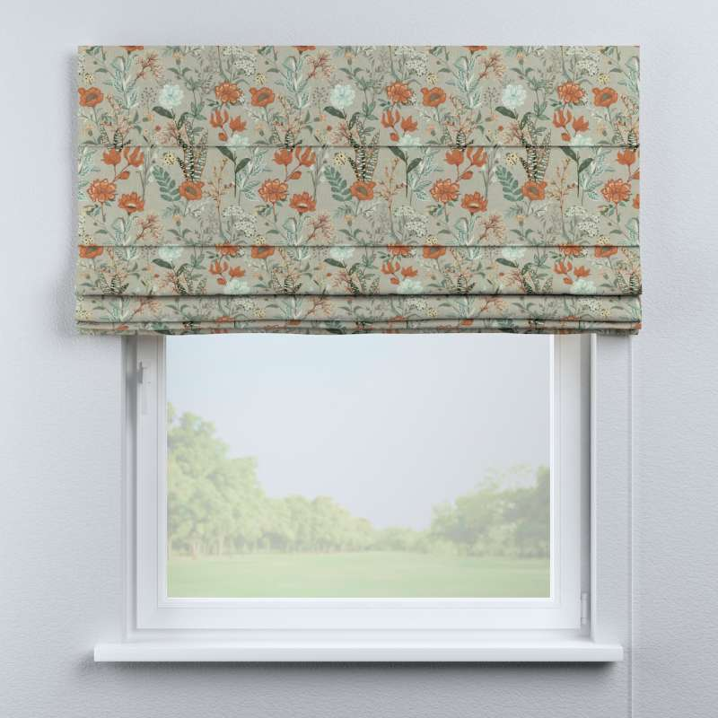 Capri roman blind in collection Flowers, fabric: 143-70