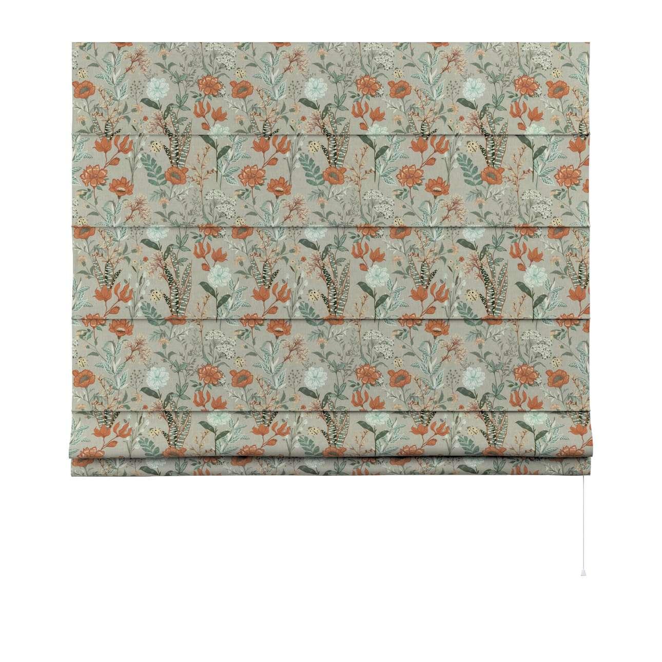 Vouwgordijn Capri van de collectie Flowers, Stof: 143-70