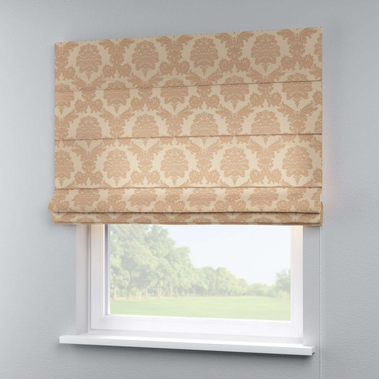 Capri roman blind in collection Damasco, fabric: 613-04
