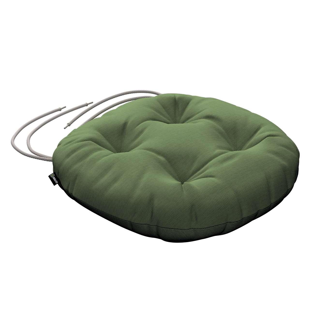 Kėdės pagalvėlė Adam  skersmuo 37x8cm kolekcijoje Jupiter, audinys: 127-52