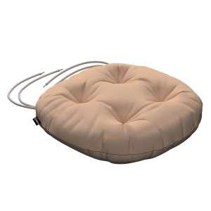Siedzisko Adam na krzesło fi37x8cm w kolekcji Cotton Panama, tkanina: 702-01