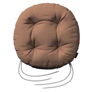 Kėdės pagalvėlė Adam  skersmuo 37x8cm kolekcijoje Cotton Panama, audinys: 702-02