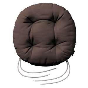 Kėdės pagalvėlė Adam  skersmuo 37x8cm kolekcijoje Cotton Panama, audinys: 702-03